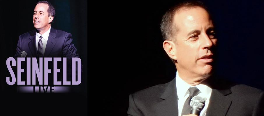 Jerry Seinfeld at Morrison Center for the Performing Arts