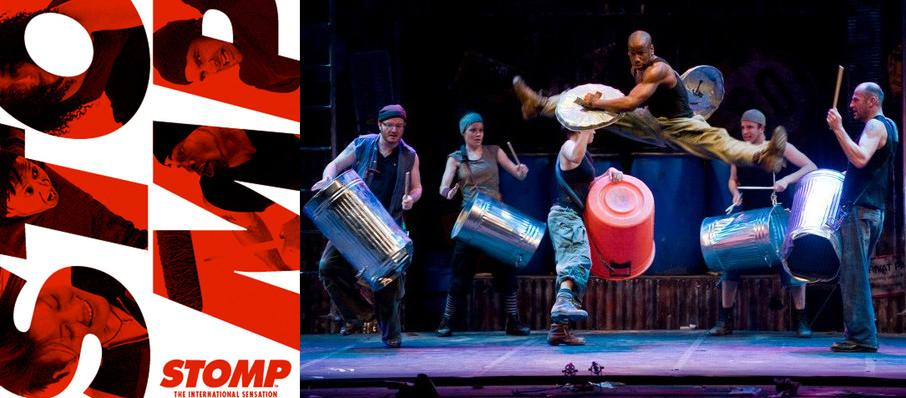 Stomp at Morrison Center for the Performing Arts