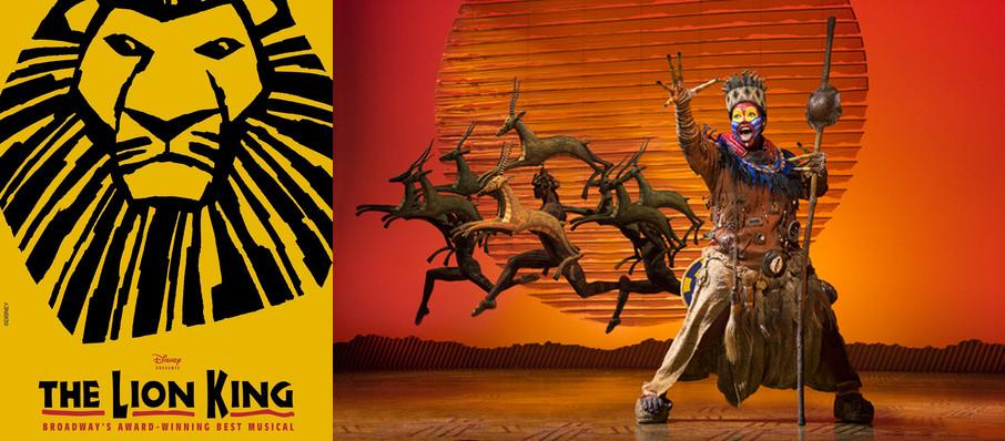 The Lion King at Morrison Center for the Performing Arts