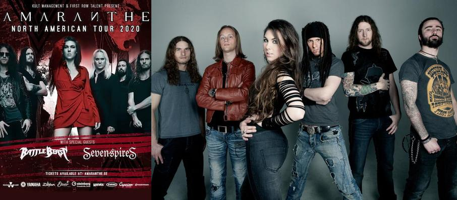 Knitting Factory Boise Seating : Amaranthe tickets calendar apr knitting factory