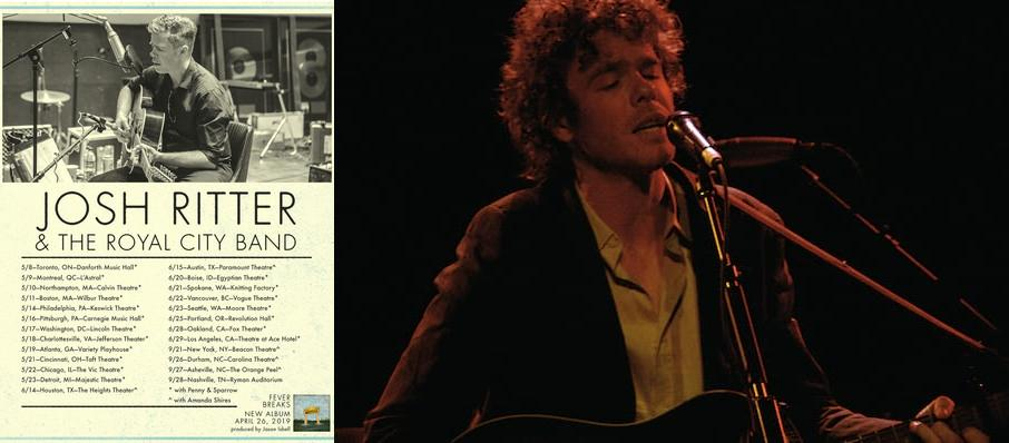 Josh Ritter at Egyptian Theatre