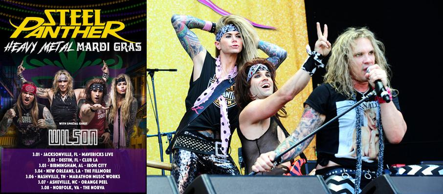Steel Panther at Knitting Factory Concert House