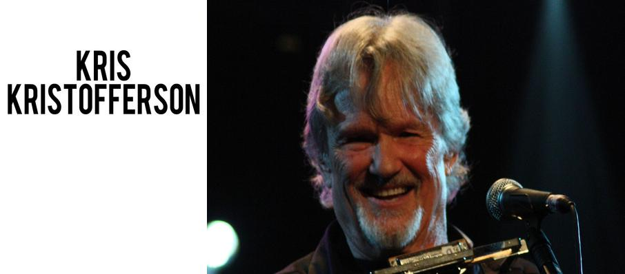 Kris Kristofferson at Morrison Center for the Performing Arts