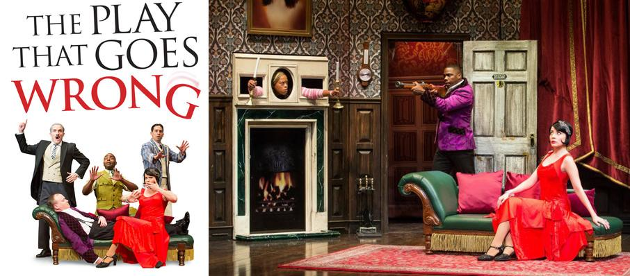 The Play That Goes Wrong at Morrison Center for the Performing Arts