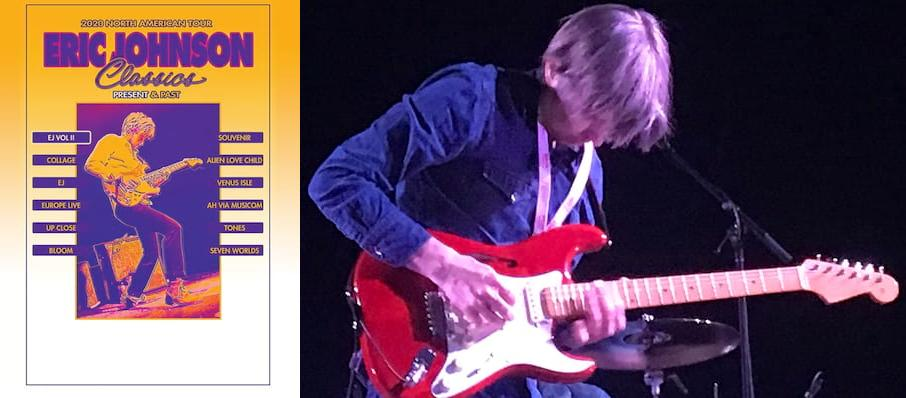 Eric Johnson at Revolution Concert House and Event Center