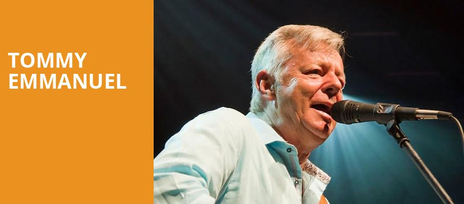 Tommy Emmanuel, Egyptian Theatre, Boise