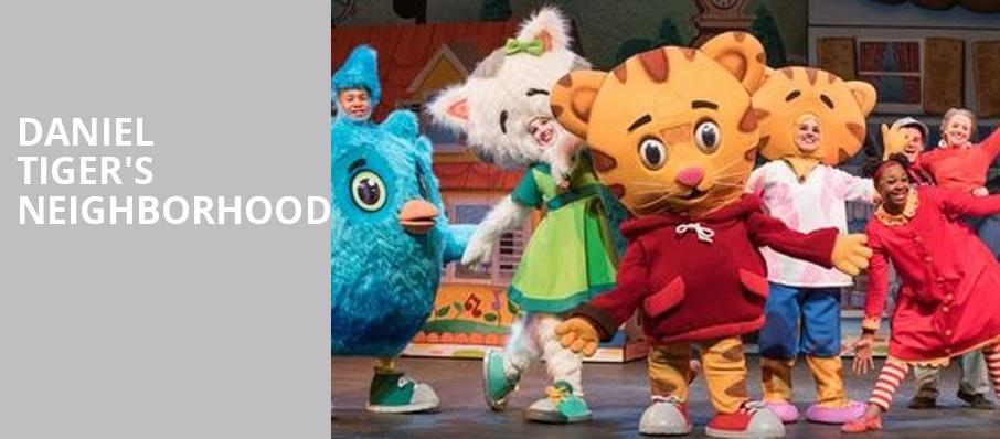 Daniel Tigers Neighborhood, Morrison Center for the Performing Arts, Boise