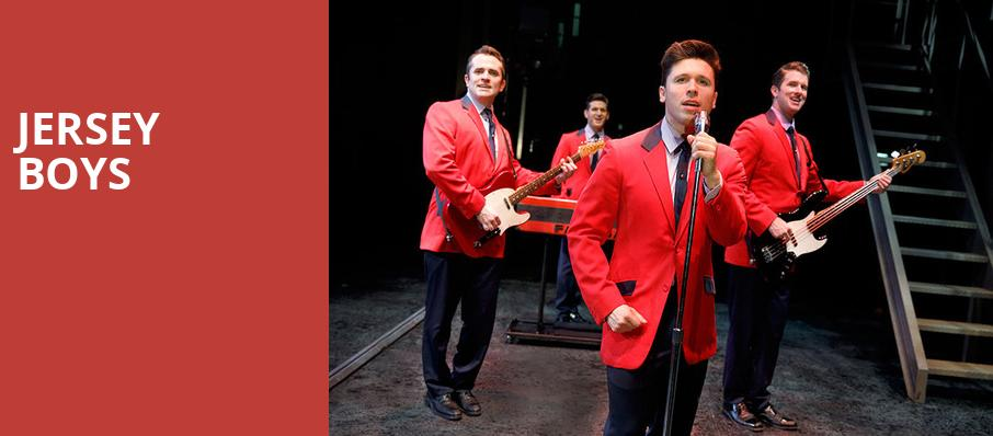 Jersey Boys, Morrison Center for the Performing Arts, Boise