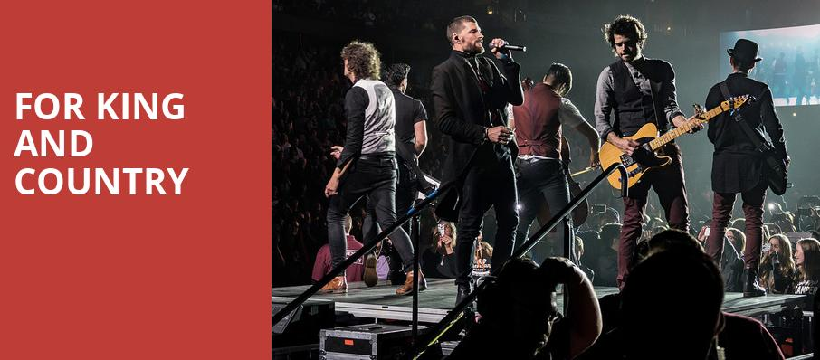 For King And Country, Taco Bell Arena, Boise