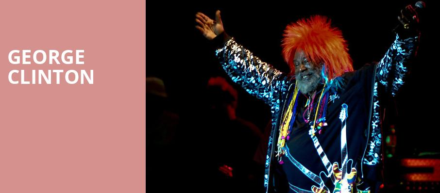 George Clinton, Revolution Concert House and Event Center, Boise