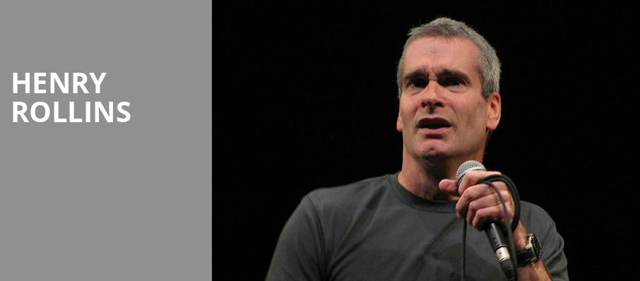Henry Rollins, Egyptian Theatre, Boise