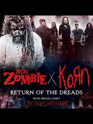 Rob Zombie Korn In This Moment, Idaho Center Amphitheater, Boise